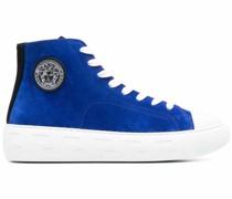 High-Top-Sneakers mit Greca-Muster