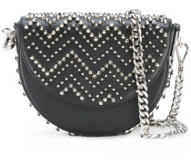 curved spike stud bag