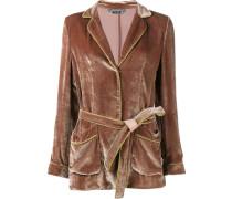 velvet robe jacket