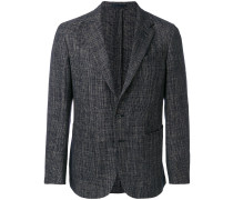tonal suit jacket