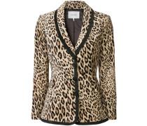 Blazer mit Leopardenmuster