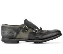 Monk-Schuhe im Distressed-Look