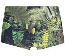 Badehose mit Dschungel-Print