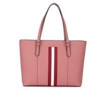 Handtasche mit Streifendetail - women - Leder