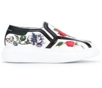 - Sneaker mit Plateau-Sohle - women