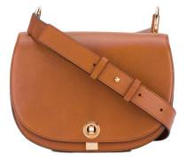 classic crossbody satchel - women