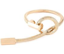 Vergoldetes 'Schumacher' Armband mit Schlaufe