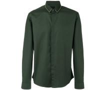 Hemd mit Nietenkragen - men - Baumwolle/Elastan