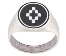 Emaillierter 'Cross' Ring
