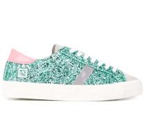 D.A.T.E. Sneakers mit Glitter-Detail