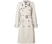 Trenchcoat mit Cut-Outs
