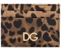 leopard print cardholder