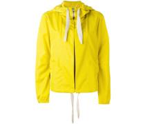 hooded cropped jacket - women - Polyamid - 3