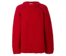 Oversized-Pullover mit grobem Strick