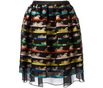 tiger print algernon skirt