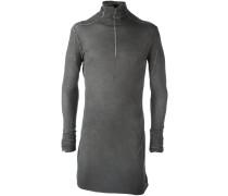Semi-transparentes Langarmshirt mit figurnahem