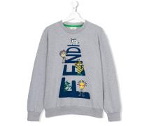 teen printed sweatshirt - kids