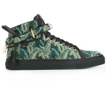 High-Top-Sneakers mit Palmen-Print