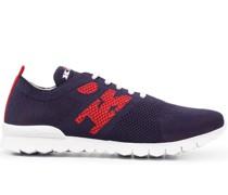Sneakers mit Webmuster