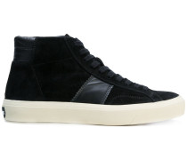 High-Top-Sneakers mit Einsatz
