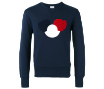 logo chest sweatshirt