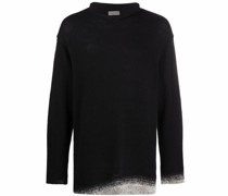 Pullover mit Ombré-Borten