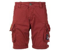 Shorts mit Logo-Patches