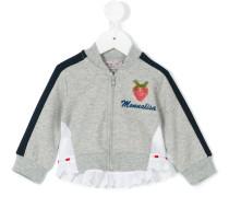 Sweatshirtjacke mit Erdbeermotiv