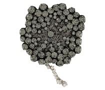 Brosche mit Perlen