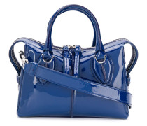 Handtasche mit Glanzeffekt