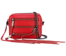 5 zip crossbody bag - women - Baumwolle/Leder