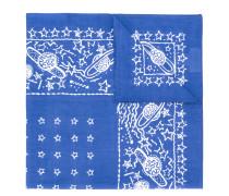 planet print foulard