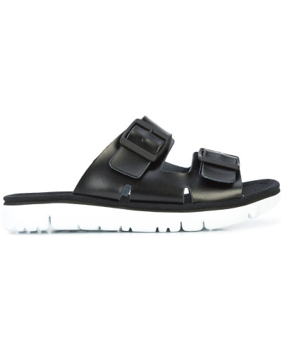 buckled open-toe sandals