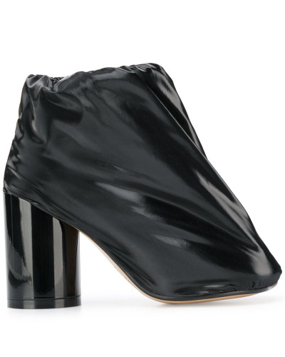 Stiefel aus Lackleder