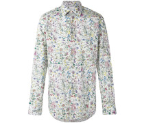 - Hemd mit floralem Print - men - Baumwolle - 44