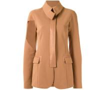 panelled blazer - women - Elastodien/Polyamid