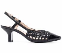 woven slingback sandals