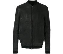 zipped bomber jacket - Unavailable