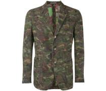 Sakko mit Camouflage-Print