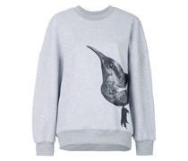 Pullover mit Vogel-Print