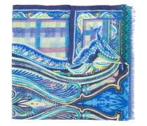 Schal mit abstraktem Print - men