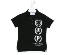 Poloshirt mit TotenkopfPrint
