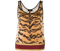 - Top mit Tiger-Print - women