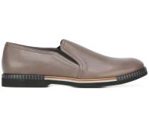 Slipper mit Kontrastsohle - men - Leder/rubber