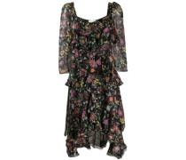 'Sissi' Kleid mit Blumen-Print