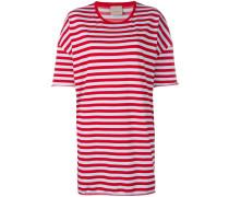 Gestreiftes Oversized-T-Shirt - women
