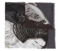 Schal mit japanischem Motiv