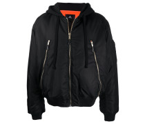 CANDIES BOMBER BLACK MULTICOLOR