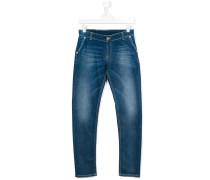 Klassische Jeans - kids - Baumwolle/Elastodien