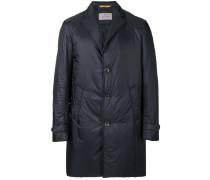 Gefütterter Mantel mit Revers